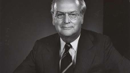 William J. Ronan, the architect and first chairman