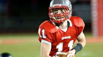 Connetquot RB Jack Spataro heads upfield for a