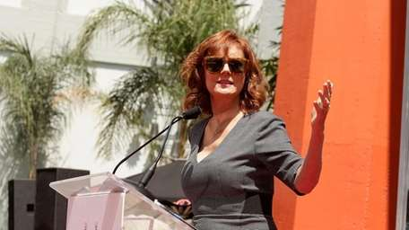 Susan Sarandon seen at a ceremony at TCL
