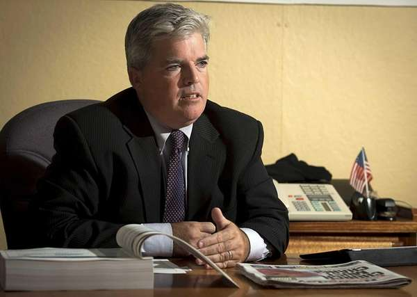 Suffolk County Executive Steve Bellone announced Saturday, Oct.