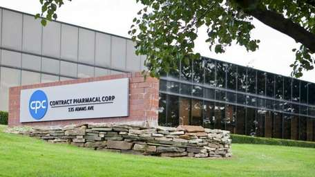Contract Pharmacal Corp. at 135 Adams Ave. in
