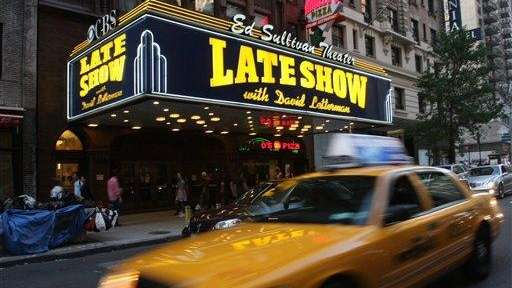 Blue apron nyc office - Daily Dave David Letterman New York City And The Breakup Of A Team Newsday