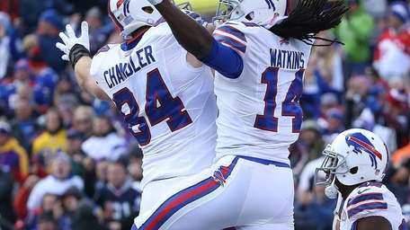 Sammy Watkins #14 of the Buffalo Bills celebrates