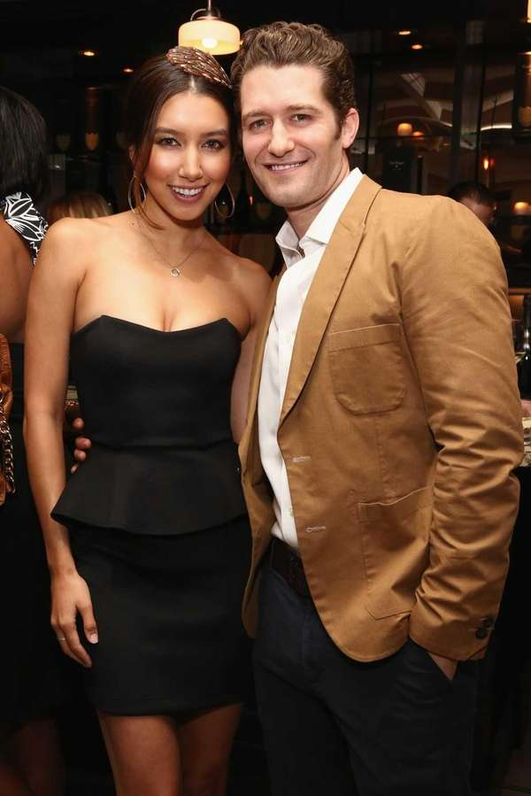 Renee Puente and Matthew Morrison in Washington, D.C.