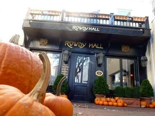 Rowdy Hall in East Hampton. The restaurant and