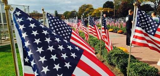 "A ""Field of Honor"" was set up at"