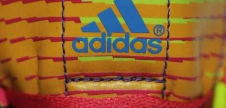 In this May 8, 2014 photo the Adidas