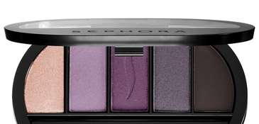 Not exactly paint-by-the-numbers, but Sephora's five-shadow palette has
