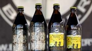 Blind Bat Brewery, owned by Paul Dlugokencky, sells