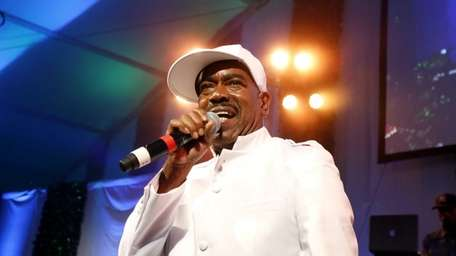 Rapper Kurtis Blow performs at the 15th Art