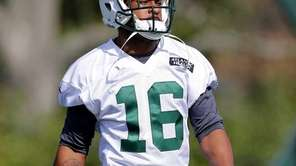 New York Jets wide receiver Percy Harvin (16)