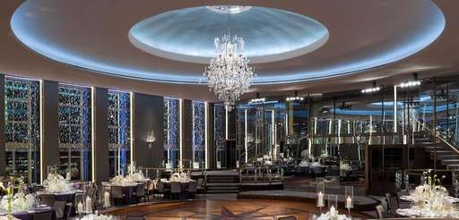 The Rainbow Room was recently restored.