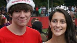 Long Island Lutheran High School homecoming king Joseph