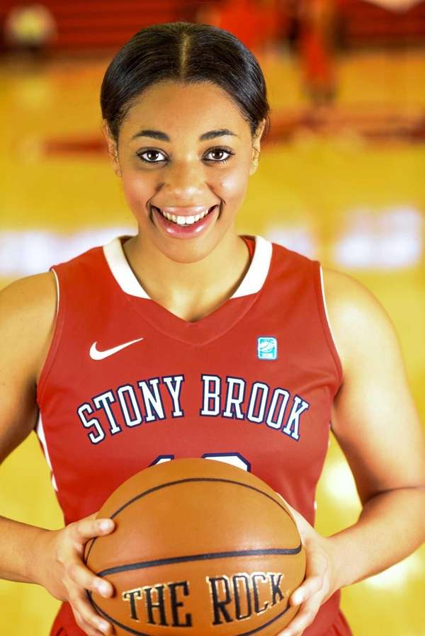 Stony Brook University Womans basketball player Sabre Proctor