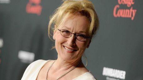 Meryl Streep attends the premiere of The Weinstein