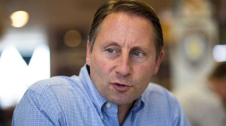 Westchester County executive Rob Astorino, the Republican challenger