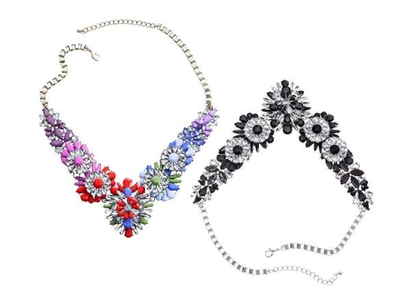Statement necklaces; $19.99 each at select Targets and