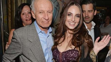 Ron Delsener with singer/songwriterAlexa Ray Joel at Cafe