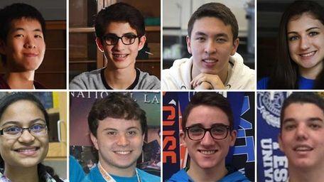 Long Island's regional finalists in the prestigious national