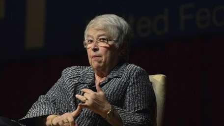 NYC Schools Chancellor Carmen Farina is shown at