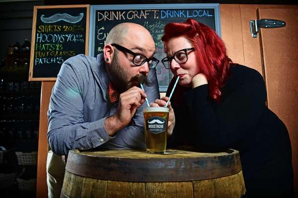 Matthew and Lauri Spitz, owners of Moustache Brewing