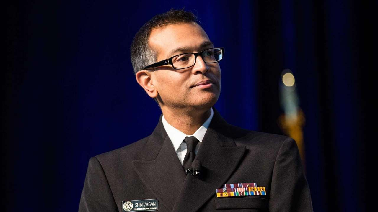 Doctor and Captain Arjun Srinivasan of the U.S.