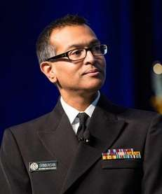 Doctor and Captain Arjun Srinivasan of the U.S.