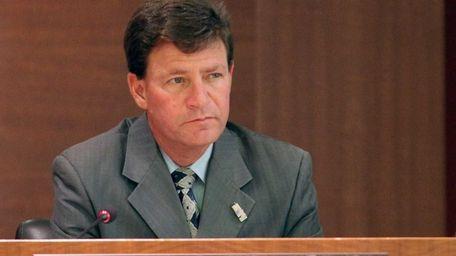Nassau County Legislator David Denenberg shown in a