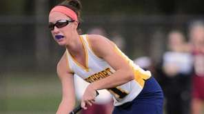 Northport's Natalie Langella makes a pass during the