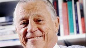 Ben Bradlee, seen in 1995, former executive editor