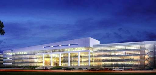 Construction of the 233,000-square-foot, four-story Dealertrack Technologies Inc.