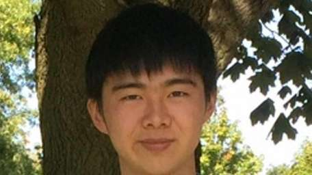 Henry Cheung, 17, a senior at Seaford High
