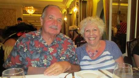 Mike and Mary Estock of Lake Grove celebrated