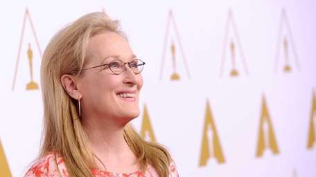 Actress Meryl Streep attends the 86th Academy Awards