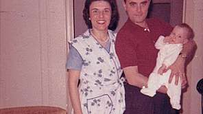 Sheila and Frank Eisinger with their daughter, Joan,