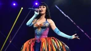 EXCLUSIVE - Katy Perry performs on stage at