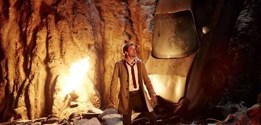 "Matt Ryan as John Constantine in ""Constantine."""