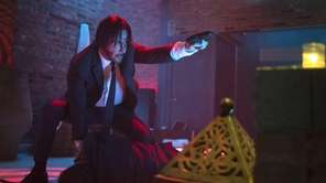 "Keanu Reeves stars as John Wick in ""John"