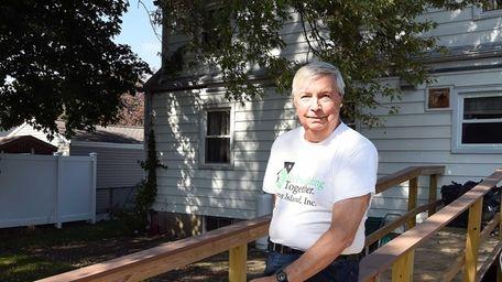 Bob Wohlafka, a Rebuilding Together volunteer and a