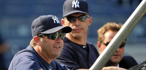 Former Yankees batting coach Kevin Long during batting
