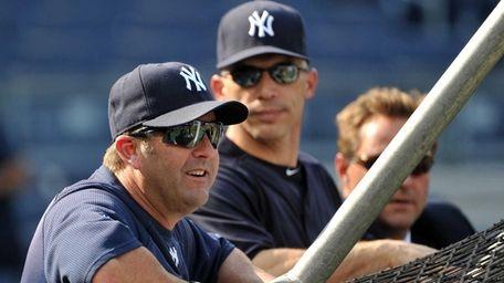 Former Yankees batting coach Kevin Long during batting