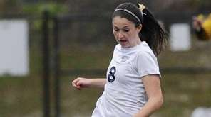 Northport midfielder Emily McNelis controls the ball against