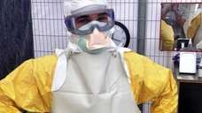 Dr. Craig Spencer, who treated Ebola patients in