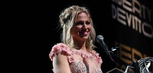 Singer-songwriter Debbie Gibson is inducted into the Long