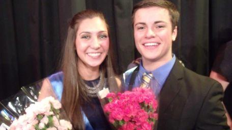 Sami McEvoy and Dylan Hornik, both 17, came