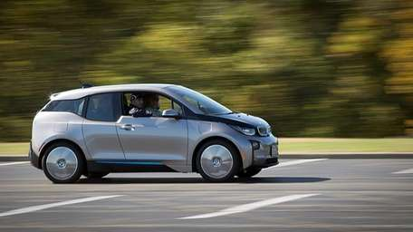 The BMW i3, an electric car designed with
