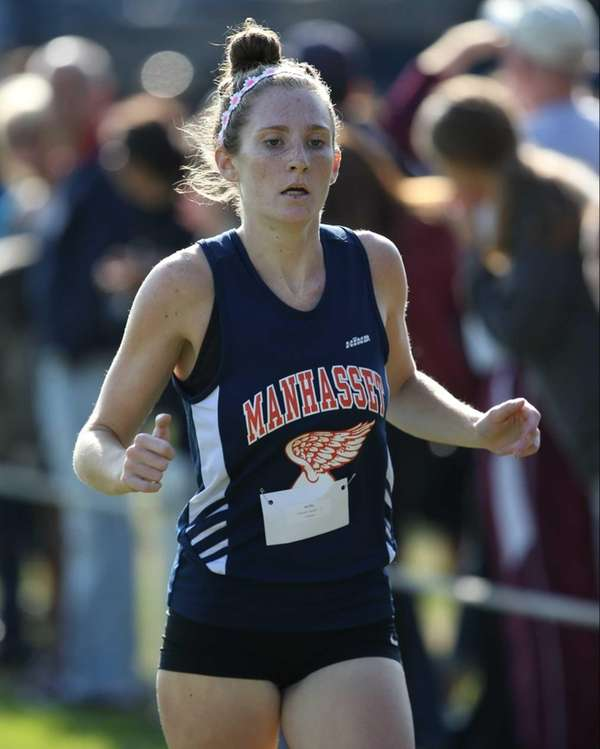 Kayleigh Caggiano of Manhasset took third place in