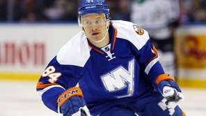 Mikhail Grabovski #84 of the New York Islanders
