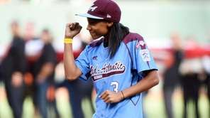 Mo'ne Davis, the first female pitcher in Little