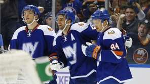 Frans Nielsen #51 of the New York Islanders